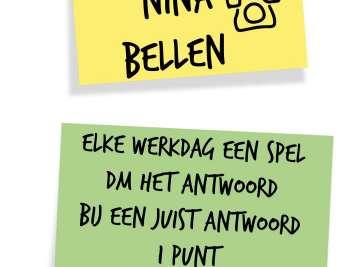 Spellen met Nina Bellen
