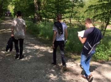 Wandeling Baantjer in Arcen